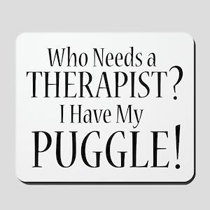 THERAPIST Puggle Mousepad