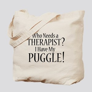 THERAPIST Puggle Tote Bag