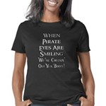When Pirate Eyes Are Smili Women's Classic T-Shirt