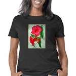 Red Morning Glorys Women's Classic T-Shirt
