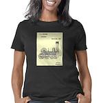 Train Locomotive Patent Pa Women's Classic T-Shirt