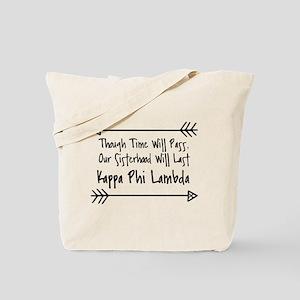 Kappa Phi Lambda sorority sisterhood Tote Bag
