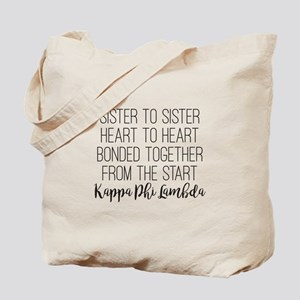 Kappa Phi Lambda sorority sisterhood sister to sis