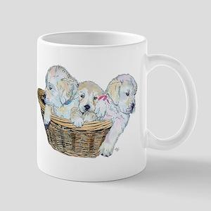Golden Retriever Pups Mug