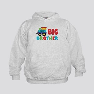 Big Brother Train Kids Hoodie