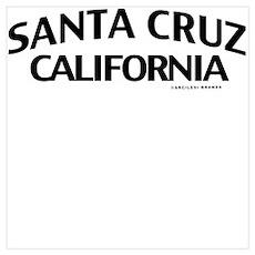 Santa Cruz Wall Art Poster