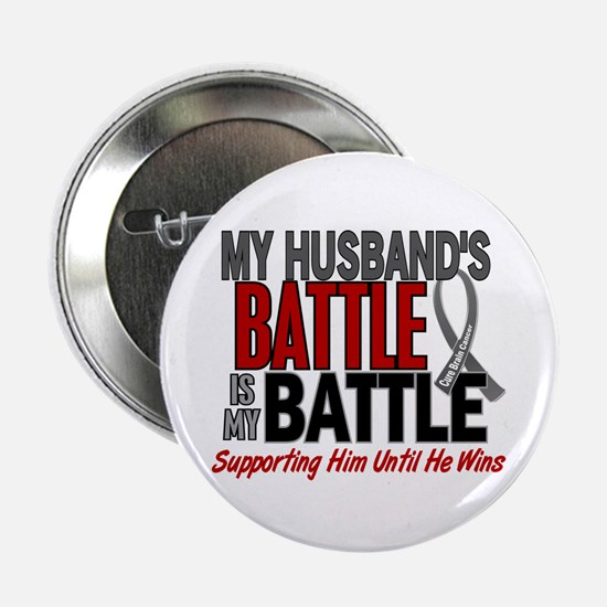 "My Battle Too Brain Cancer 2.25"" Button"