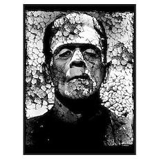 Frankenstein Wall Art Poster