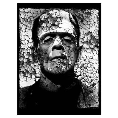 Frankenstein Wall Art Poster