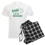 Irish I Was Drunk Men's Light Pajamas