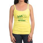 Irish I Was Drunk Jr. Spaghetti Tank
