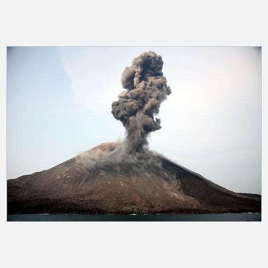Ash cloud from vulcanian eruption of Anak Krakatau