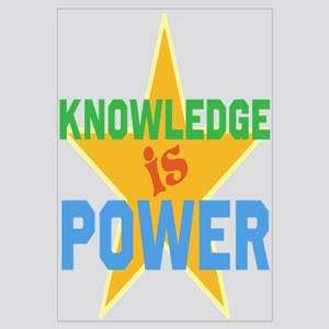 Knowledge is Power Wall Art