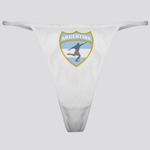 Argentina Soccer Classic Thong