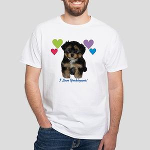 Iloveyorkiepoos_hearts T-Shirt