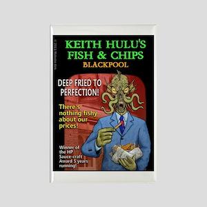 Keith Hulu Rectangle Magnet