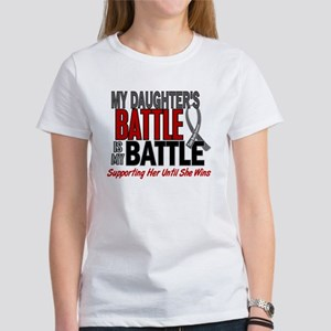 My Battle Too Brain Cancer Women's T-Shirt