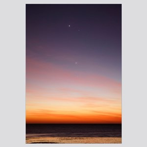 Conjunction of Venus, Mercury, Jupiter and Mars at