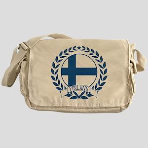 Finland Wreath Messenger Bag