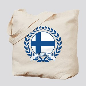 Finland Wreath Tote Bag
