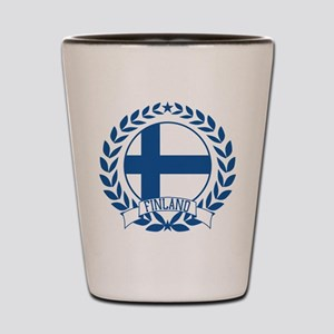 Finland Wreath Shot Glass