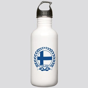 Finland Wreath Stainless Water Bottle 1.0L