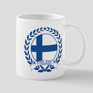 Finland Wreath Mug