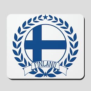 Finland Wreath Mousepad