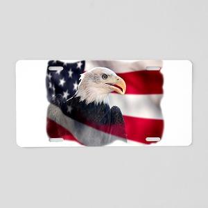 US Symbol Aluminum License Plate