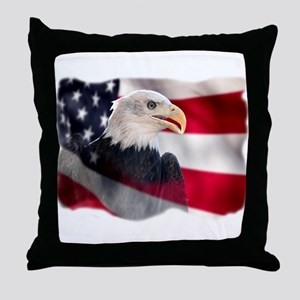 US Symbol Throw Pillow