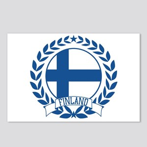 Finland Wreath Postcards (Package of 8)