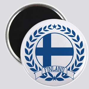 Finland Wreath Magnet
