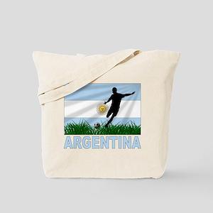 Argentina Soccer Tote Bag