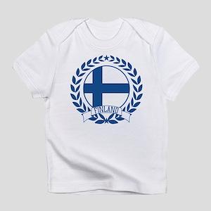 Finland Wreath Infant T-Shirt