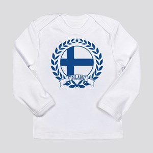 Finland Wreath Long Sleeve Infant T-Shirt