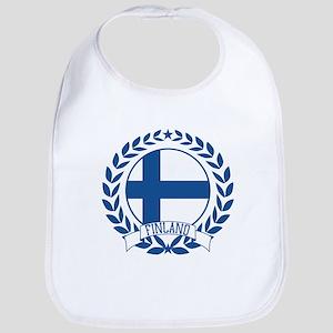 Finland Wreath Bib