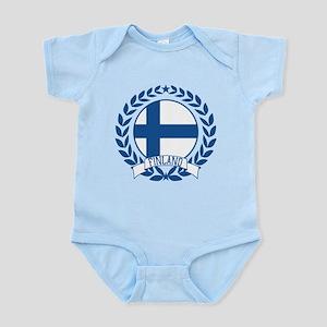 Finland Wreath Infant Bodysuit