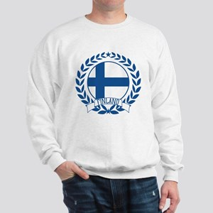 Finland Wreath Sweatshirt
