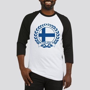 Finland Wreath Baseball Jersey