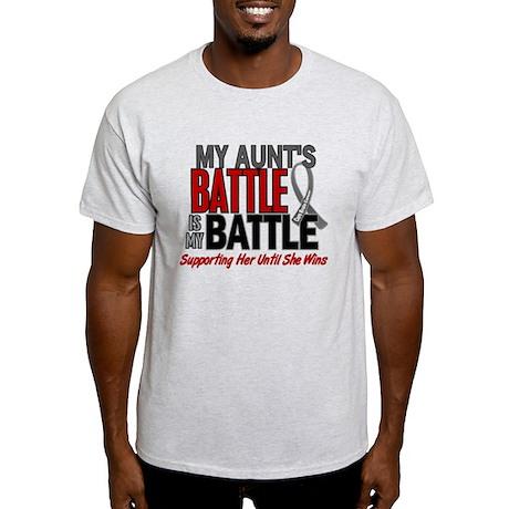 My Battle Too Brain Cancer Light T-Shirt