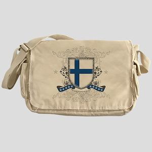 Finland Shield Messenger Bag