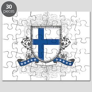 Finland Shield Puzzle
