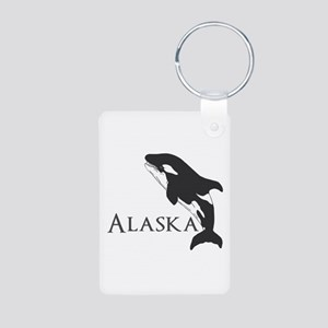 Whale Song Aluminum Photo Keychain