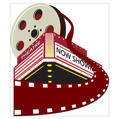 theater cinema film Wall Art Poster