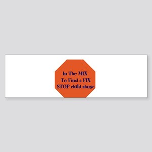 The mix Bumper Sticker