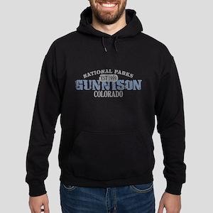 Gunnison National Park CO Hoodie (dark)