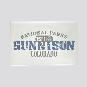 Gunnison National Park CO Rectangle Magnet