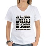 Available In Sober! Women's V-Neck T-Shirt