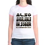 Available In Sober! Jr. Ringer T-Shirt