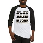 Available In Sober! Baseball Jersey
